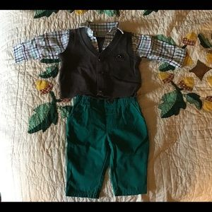 Adorable baby boy outfit.